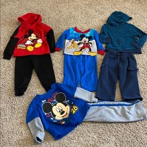 Bundle of used play clothes